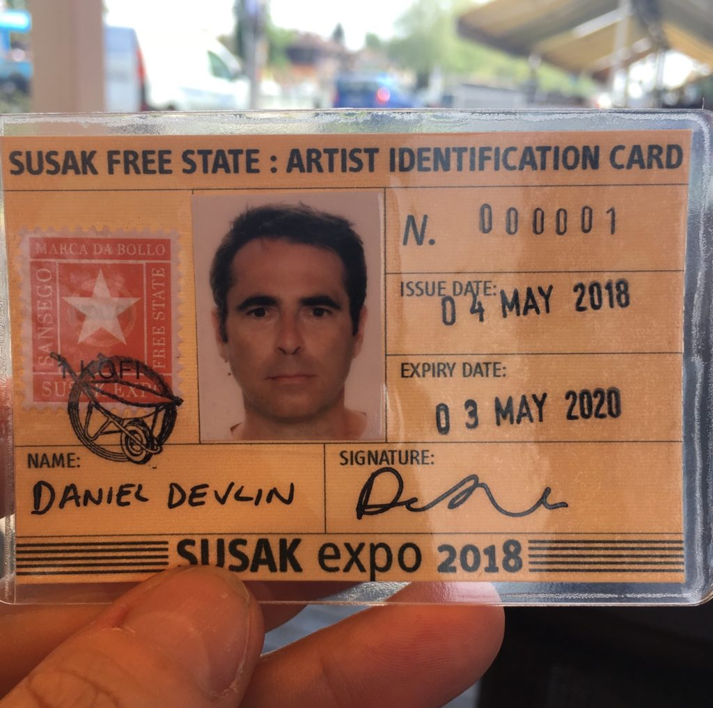 Artist Identification Card