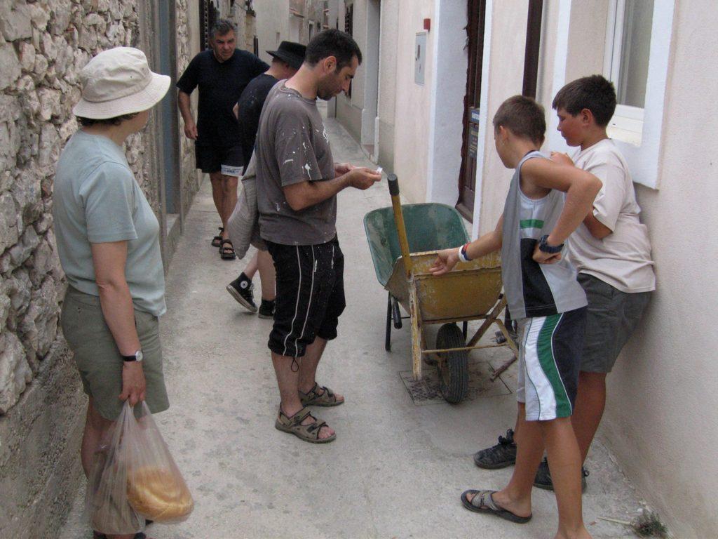 Collecting Wheelbarrows