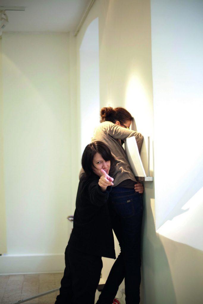 Christina Boula and Anna-Maria Bogner